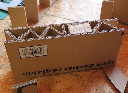 Etagere Ronde En Carton Episode 2 Artisanat En Carton Design En Carton Et Etagere En Carton