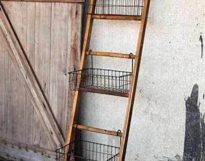 11 Ways To Repurpose And Decorate With Ladders Wood