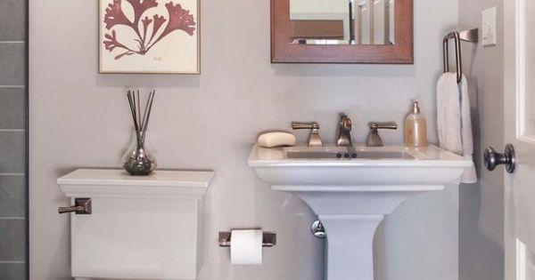 Powder Room Ideas Roomspiration Pinterest