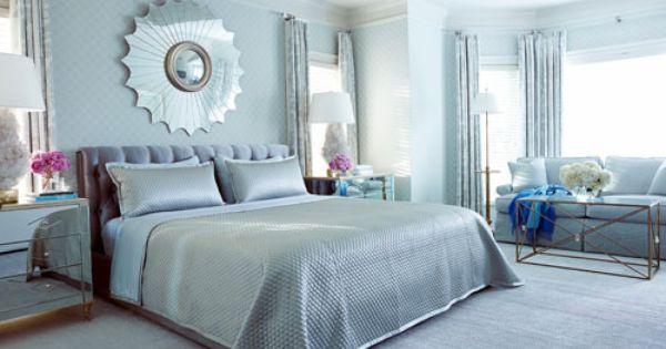 Glamorous Blue Decor Bedroom Colors Silver Bedroom Bedroom Color Schemes