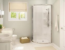 Maax Cyrene Shower Kit Chrome Clear Model Number 300001 001