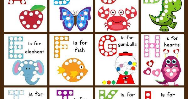 Dot Sticker Pages Alphabet Worksheets Worksheets And