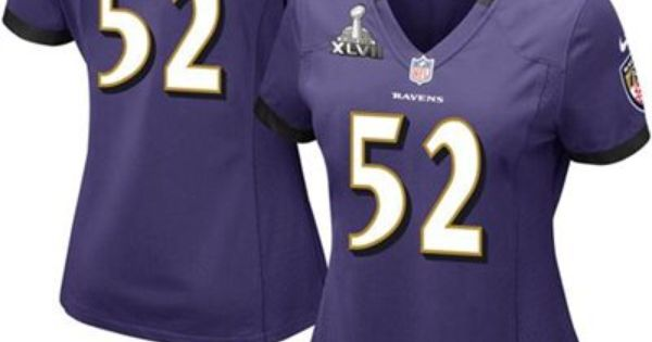 Nike Ray Lewis Baltimore Ravens Ladies Super Bowl XLVII Bound Game ...