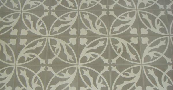 Castelo tegels 20 x 20 licht grijs wit geinstalleerd en geleverd door morefloors alle soorten - Deco toilet grijs ...
