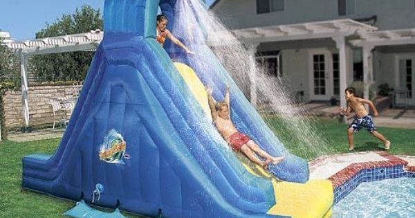 Pin By Gregory Cannone On Back Yard Backyard Pool Cool Swimming Pools Swimming Pool Slides