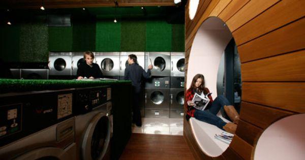 Laundrette Interior Design Laundromat Business Laundry Shop