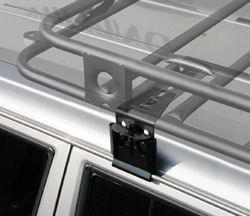 Defender Roof Rack Heavy Duty Rain Gutter Clamps Set Of 6 3 Inch 4 5 Inch Tall
