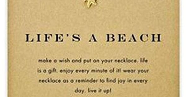 Life's a Beach // Dogeared Jewelry