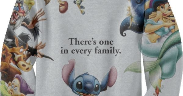 haha nice! I remember the commercials of Stitch messing up Disney movie