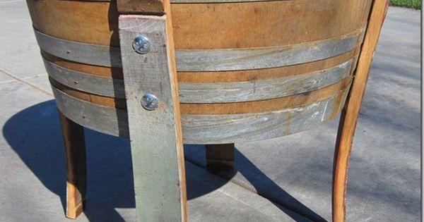 Diy custom wine barrel planter tutorial design build for Diy wine barrel planter