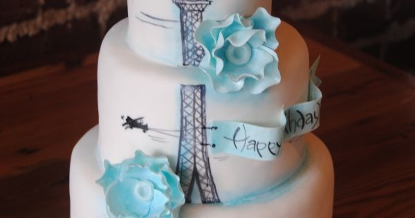 Paris birthday cake - perfect for my BIG 30 coming up in