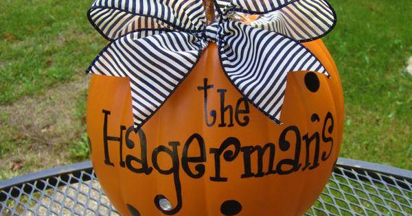 Halloween pumpkin idea