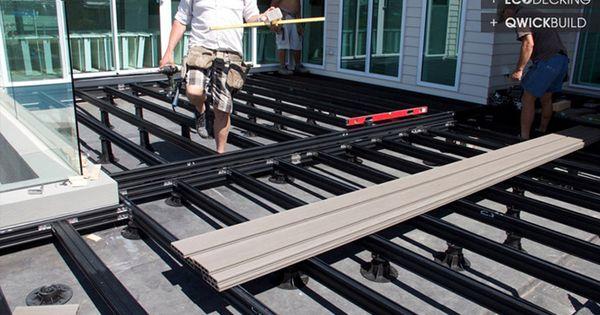 016 11 G Eco Decking Qwick Build Deck Frame Materials