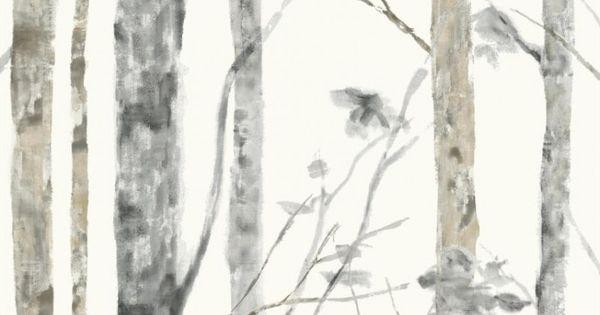 Pin By Gretchen Barnes Henry On My Wish House Birch Tree Wallpaper Peel And Stick Wallpaper Tree Wallpaper