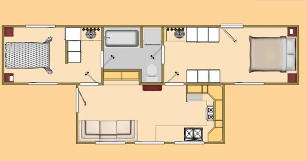 container home floor plans com 480 sq ft shipping container floor plan big t floor plan. Black Bedroom Furniture Sets. Home Design Ideas