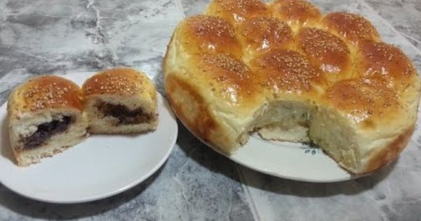 بريوش خلية النحل بالشوكولا هشة مثل القطن واقتصادية Arabic Dessert Food Dessert Recipes