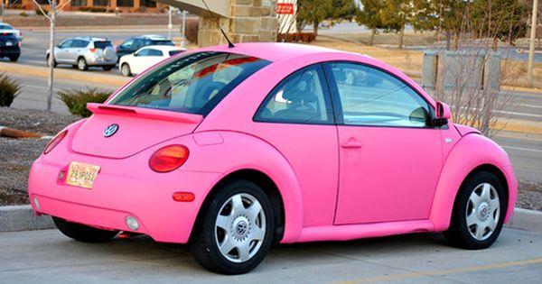 Pink VW Beetle | Volkswagon Love | Pinterest | Beetle, Vw ...