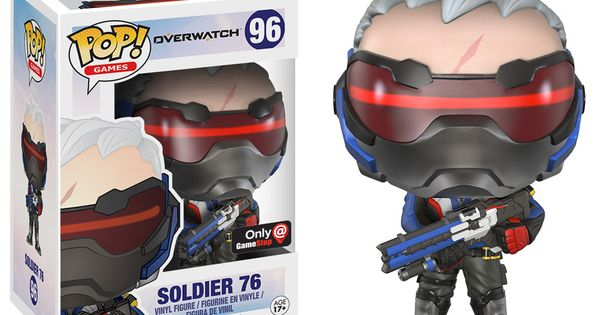 Pop Video Games Overwatch Soldier 76 Figure Only At