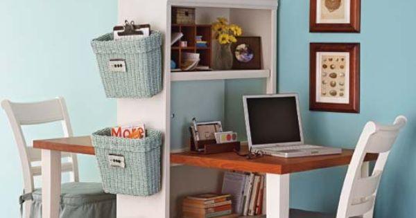 DIY Project: Double Desk Bookcase