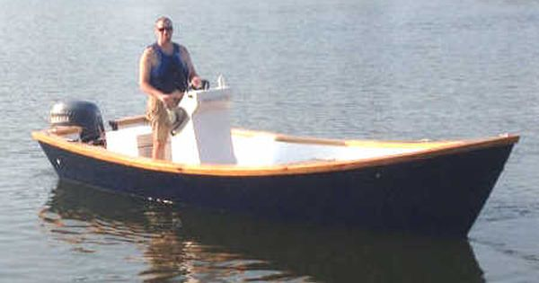 Easy To Build Carolina Dory Wooden Boat Plans | boat building | Pinterest | Wooden boat plans ...