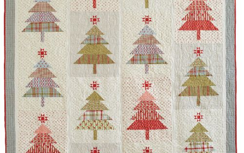 Santa S Tree Farm Design By Wendy Sheppard Quilting