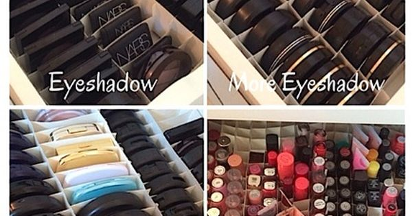 Makeup Organization...start out the new year by being organized! Click thru to