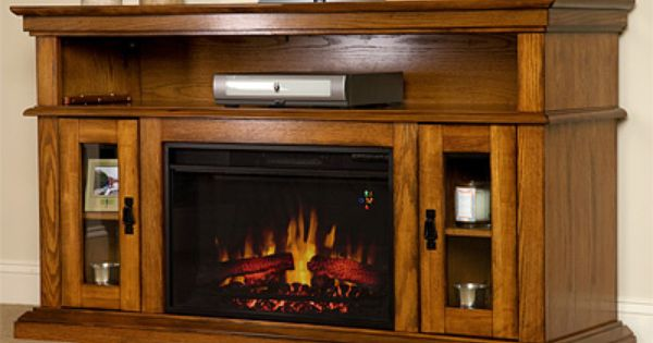 Electric fireplaces a realistic alternative to wood or for Alternative fireplaces