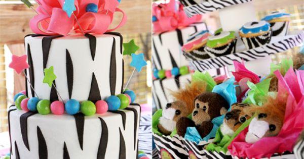 zebra party!