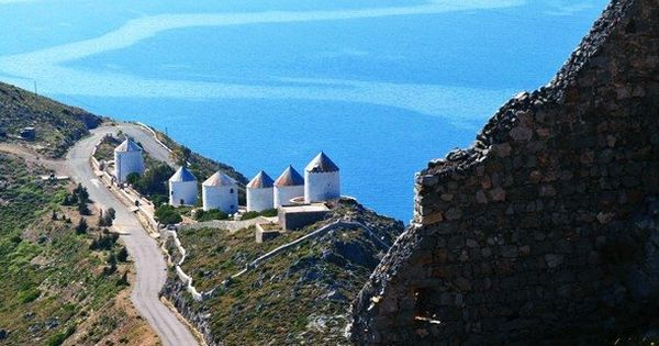 The greek island of Leros - Dodecanese , Greece