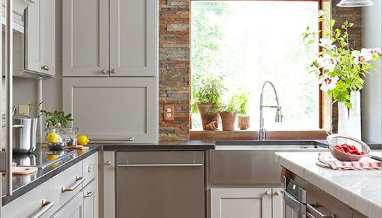 Stylish Backsplash Pairings Stone Backsplash Appliance