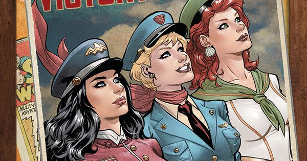 DC Comics Bombshells JUSTICE LEAGUE 43 Variant Cover