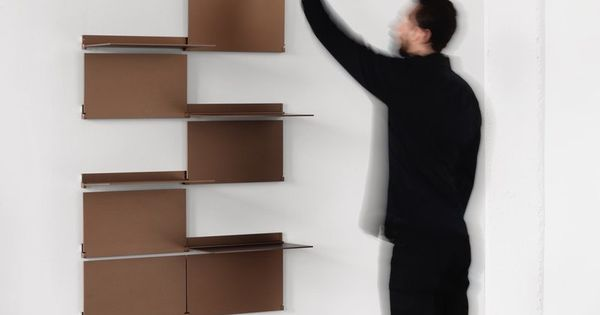 Simple Shelf that can be Transformed into Wall Panels – Riveli ...