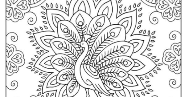 Kleurplaten Van Alfabet Dieren Moeilijke Kleurplaat Pauw Kleurplaten Pinterest Pauw