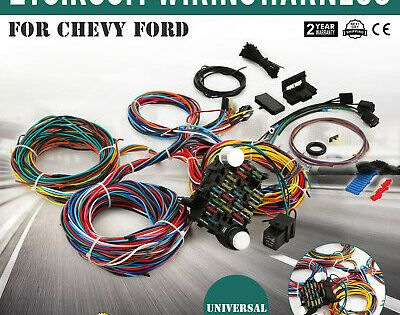 [SCHEMATICS_48ZD]  21 Circuit EZ Wiring Harness Chevy Universal Wires Fit X-long   21 Ez Circuits Wiring Harness      Public Utilities Commission