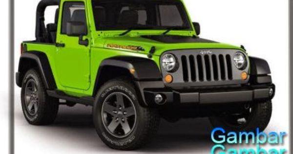 Gambar Mobil Jeep Wrangler Rubicon Terbaru