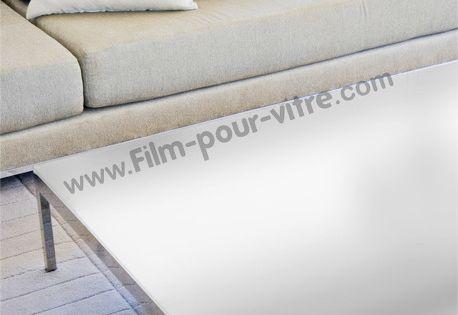 Film Protecteur Depoli Blanc Pour Table En Verre Table En Verre Film Pour Vitrage Film Protecteur