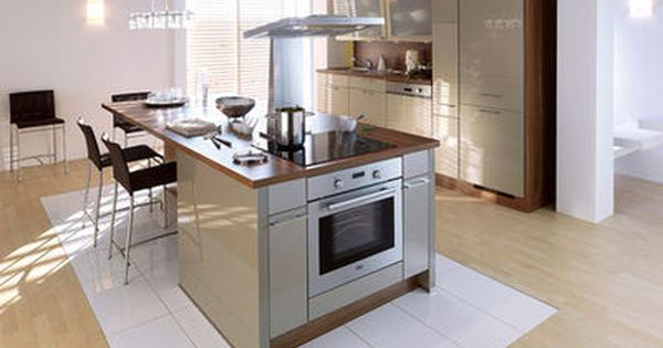 Cuisine avec lot central des mod les de cuisines avec for Modele ilot centrale cuisine