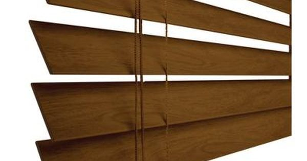 Shade O Matic Jasper 2in Printed Faux Wood Blinds 60in By 48in 86030 6048 370 Home Depot Canada Faux Wood Blinds Wood Blinds Blinds