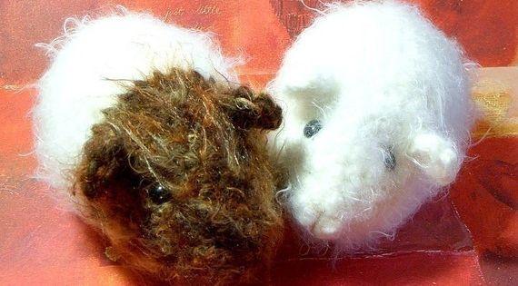 Crochet Amigurumi pattern - Guinea pig - Crochet animal ...