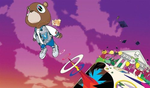 Who Is Takashi Murakami Gallery Happenings Graduation Album Kanye West Album Cover Music Album Cover