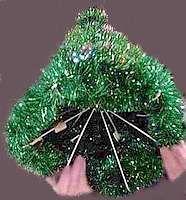 Coat Hanger Christmas Tree Free Craft Project Recycled Christmas Tree Hanger Christmas Tree Christmas Decorations Tree