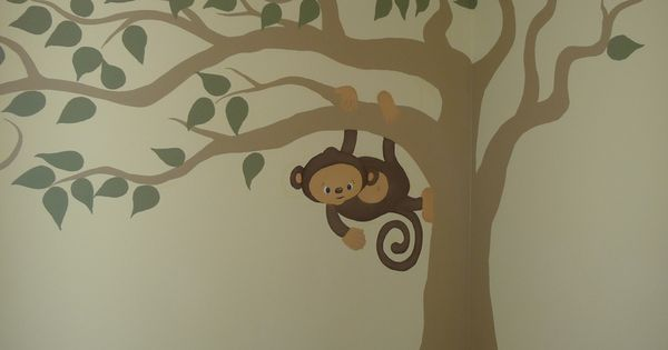 If we have a boy we are thinking Monkey Jungle theme. This
