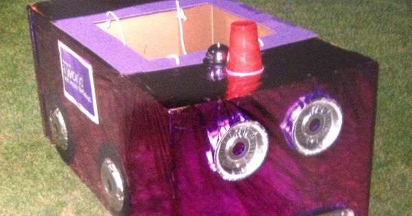 My Big Purple race car for Relay For Life Varoommm ...