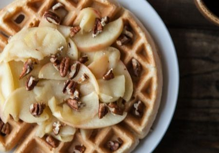 Waffles, Pecans and Butter on Pinterest