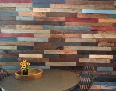 Impresionantes ideas para revestir paredes con madera de - Madera para paredes ...