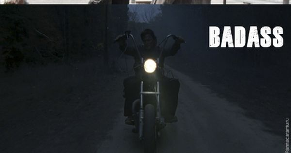 The Walking Dead ... Daryl Dixon ... Zombie Killer - Badass -