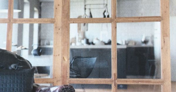 holz glas schiebet r zeitschrift brigitte sept 2015 s. Black Bedroom Furniture Sets. Home Design Ideas