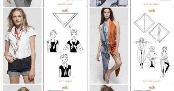 All the things you can do with a scarf.*the pant suit thing