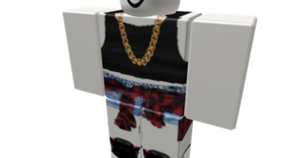 Black Crop Top & Flannel W/ Shorts - ROBLOX | Roblox ...