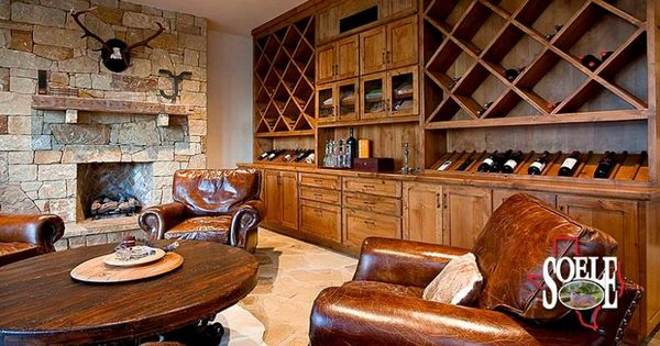 Cigar lounge with wine scotch storage love this one room for 10 sinclair terrace short hills nj